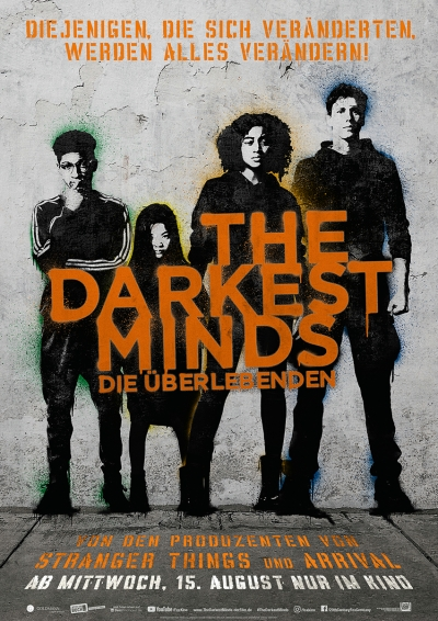 The Darkest Minds - Kinostart:16.08.2018
