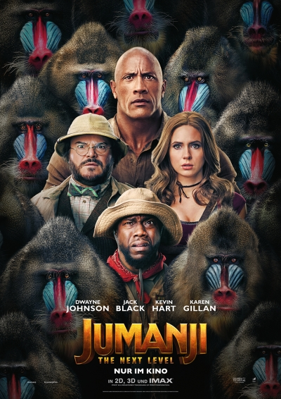 Jumanji: The Next Level - Kinostart: 12.12.2019