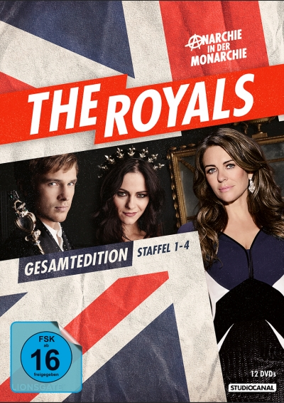The Royals - Staffel 1-4 (DVD Edition)