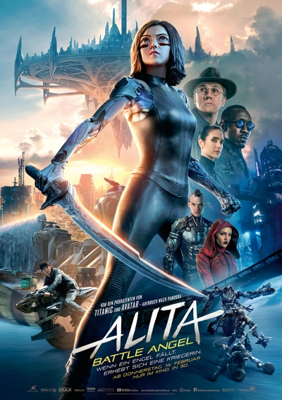 Alita: Battle Angel - Kinostart: 14.02.2019